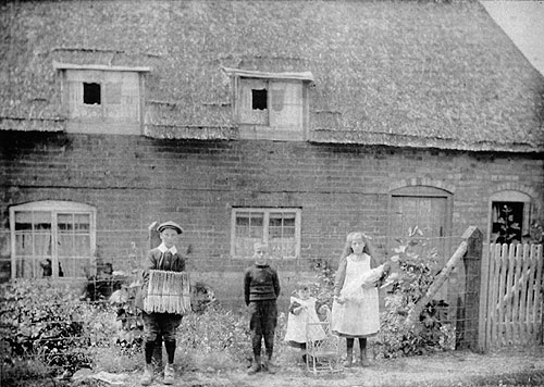 Blacksmith's cottage about 1913
