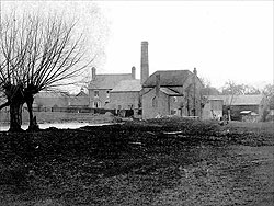 Aldington Mill in the early twentieth century