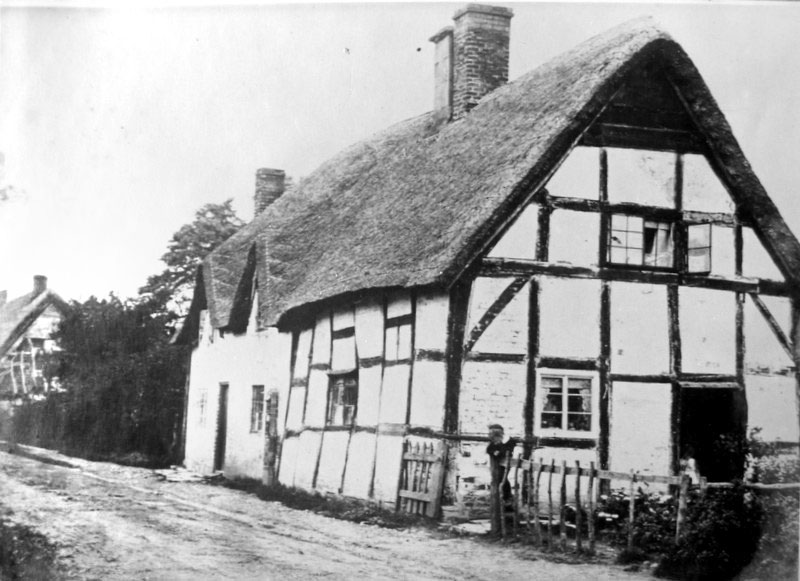 (13) An example of the type of labourers' cottages in the village at the time of the sale (on the site of the present 'Whytebury and Oakenshore')