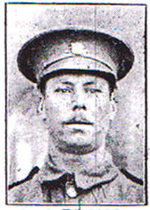 Allen Halford (Lots 58, 59 & 78) during the Great War.