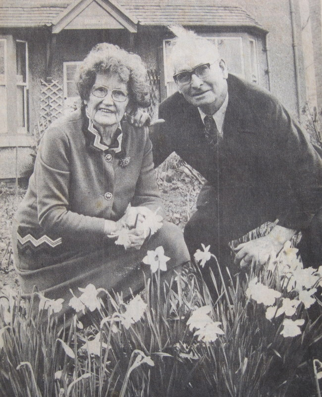Charles Parker (Lots 75 & 78) and his wife Elsie.