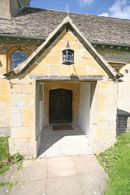 5. The plain south porch of 1730.