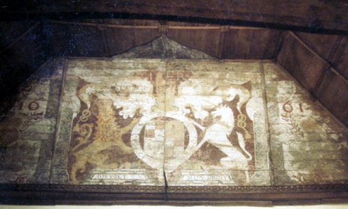 Royal Arms in the Church of St John the Baptist
