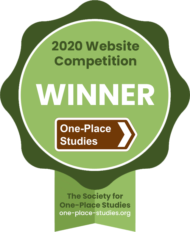 The Society for One-Place Studies - 2020 Website Competition Winner