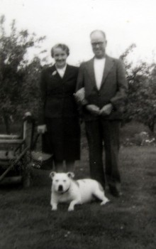 Kathleen and Percy Bond, who started the stall where the Dogs Trust is now located.