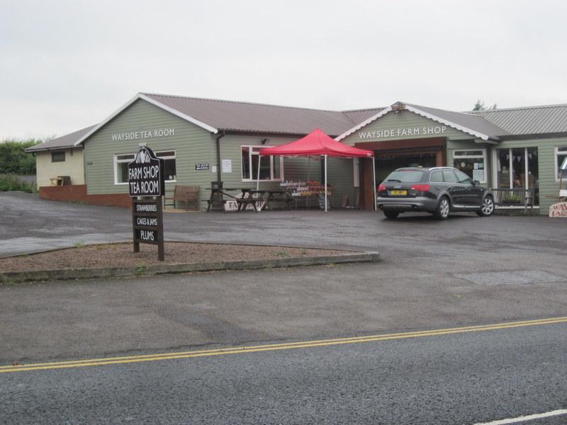Wickhamford - Fruit stalls on Pitchers Hill | The Badsey Society