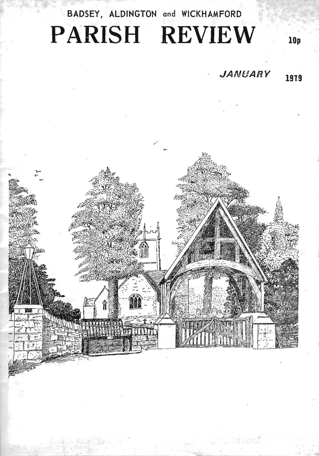 Badsey, Aldington and Wickhamford Parish Review, January 1979