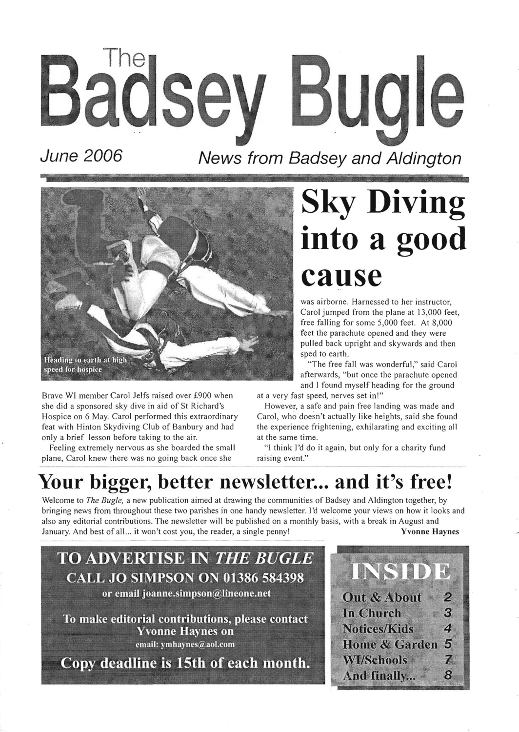 The Badsey Bugle, June 2006