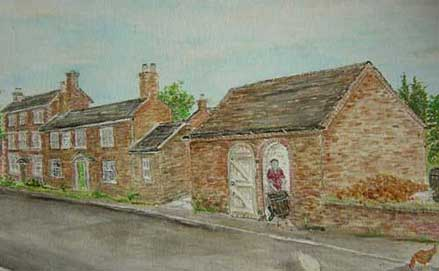 Painting of the Cider Mill by John Bird