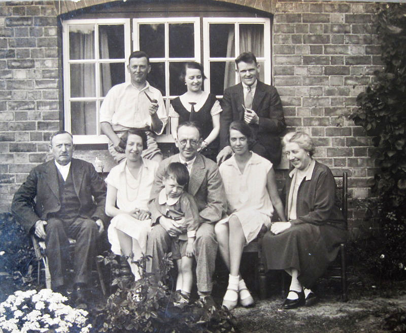 A family group around 1930.