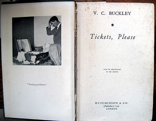 Tickets, Please by  V.C. Buckley's