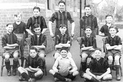 School football team about 1937