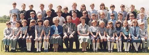Badsey First School Leavers (c 1987)