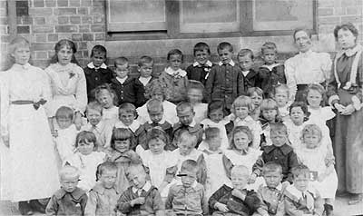 Early class photo