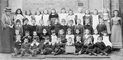 Early Photo of Badsey School