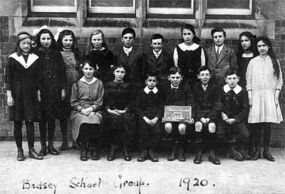 Badsey School Group, 1920