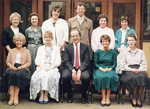 Badsey First School Staff (c 1990)