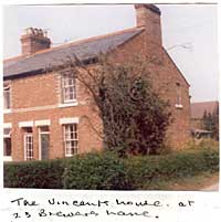 The Vincent house at 25 Brewers Lane.