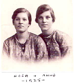 Nora and Anne - 1925