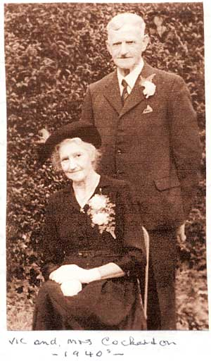 Vic and Mrs Cockerton - 1940s