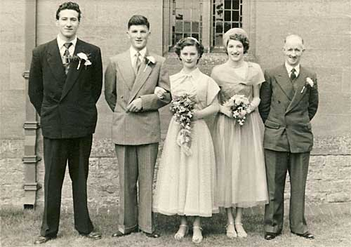 Marriage of Miss Mary Cook to Mr Edwin Page - photo