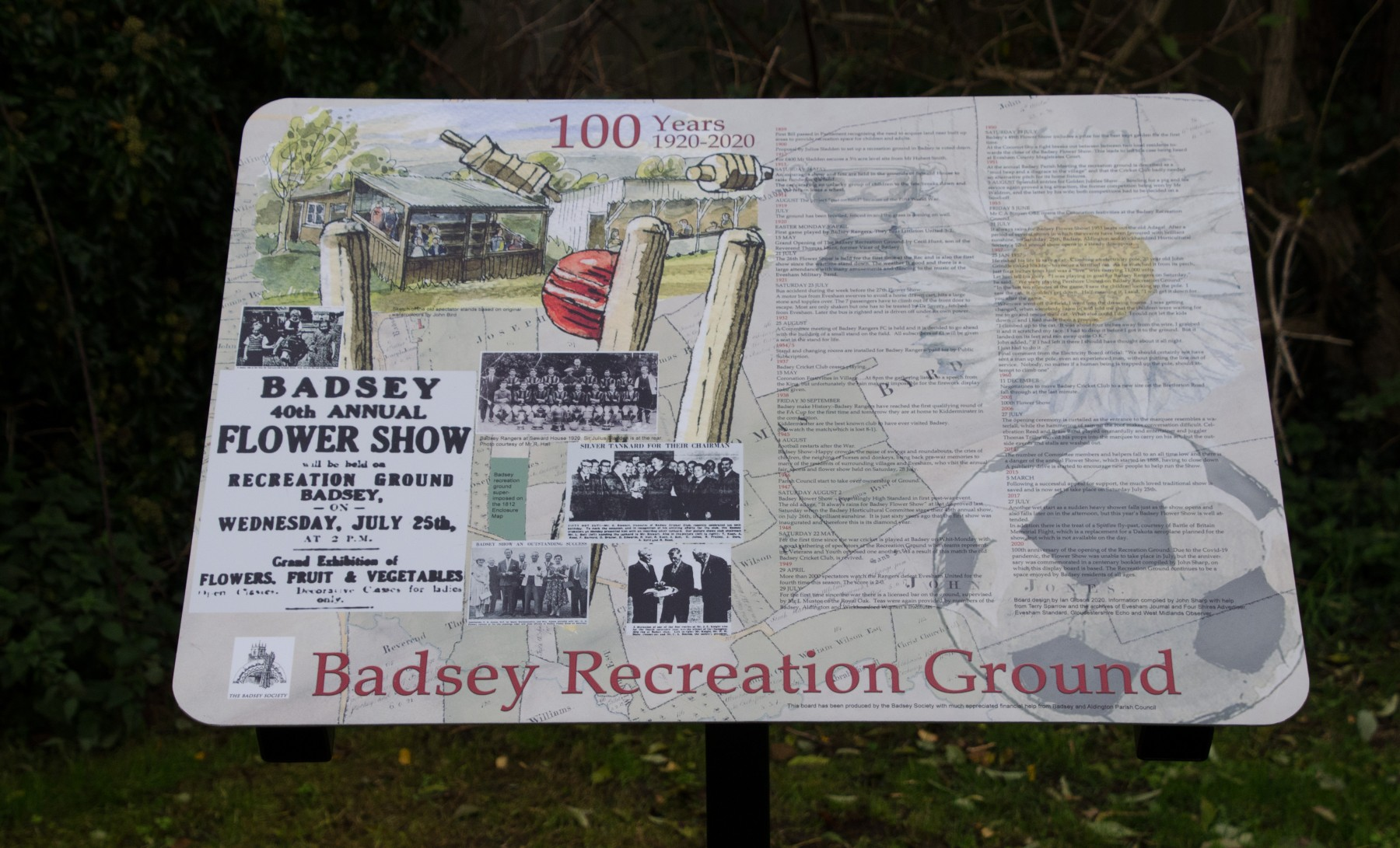 Recreation Ground Information Board