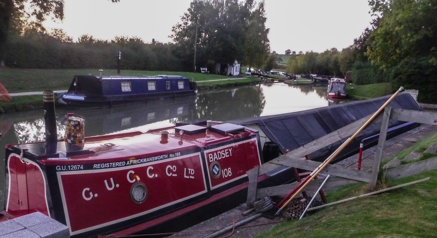 Badsey narrowboat