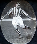 Jack Haines, England player.