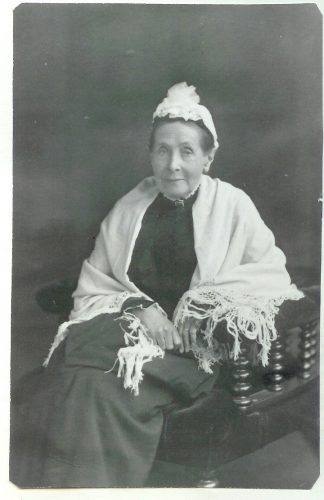 Caroline Woodall (nee Tanner) , Alfred Woodall's mother