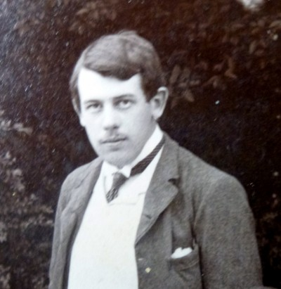 Benjamin Ryle Swift at Oxford, 1887.