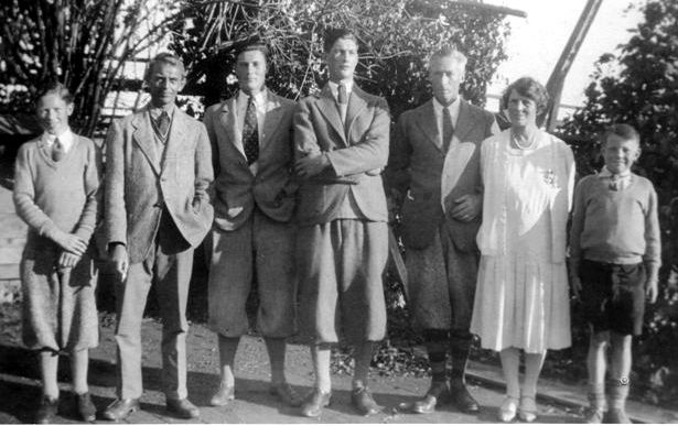 The Osler family in the late 1920s.