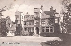 Lechlade Manor House in about 1910
