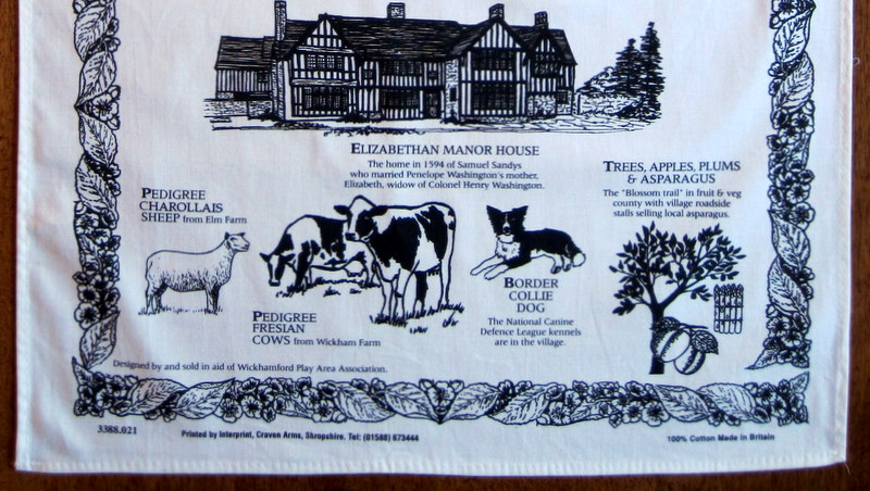 Detail 3 – Wickhamford Manor and local produce.