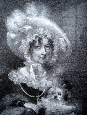 Mary Sandys, Marchioness of Downshire, ca 1810