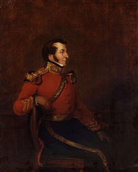 Arthur, 2nd Baron Sandys, who carried out restoration of the family monuments at Wickhamford in 1841