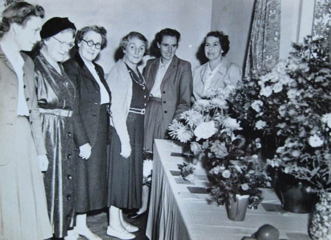 A Flower and Produce Show on 12th September 1953