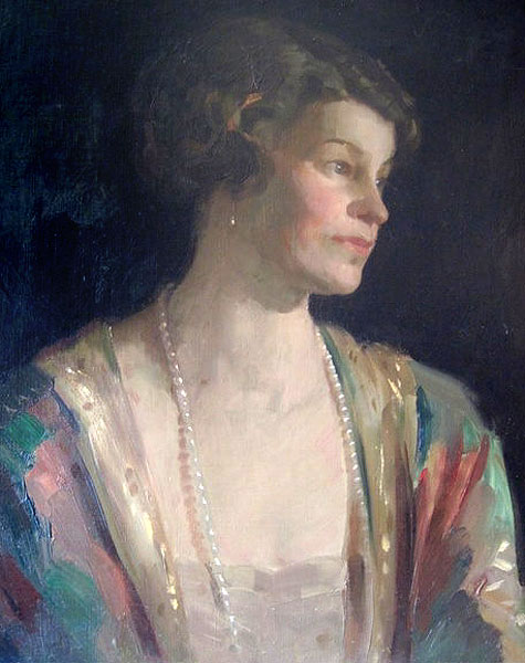 Helen Lees-Milne. (1884-1962). The daughter of Henry and Christina Bailey she married George Lees-Milne in 1904.