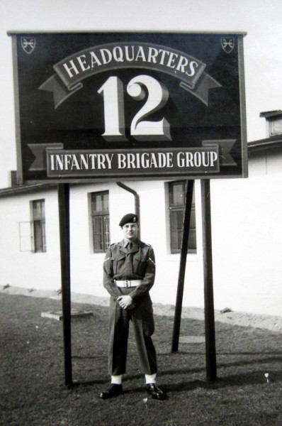 L/Cpl Carter at H.Q. Osnabruke
