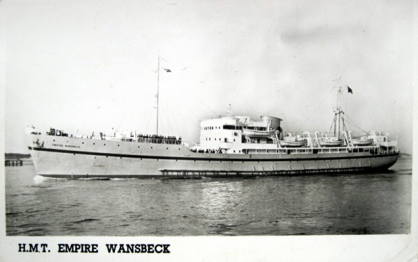 This postcard, in the collection, is of a transport ship that ran from Harwich to Hook-of-Holland and presumably Maurice was aboard at some time. The ship was built in 1943 as the 'Linz' and was a war prize.