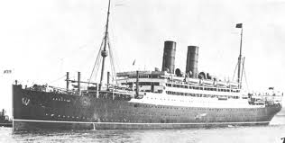 The Cunard ship R.M.S. Andania.