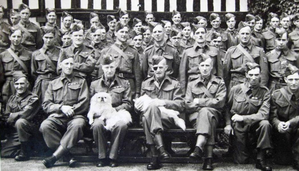 The Broadway Company of the 4th Worcestershire (Evesham) Battalion, who would have been responsible for the defence of Wickhamford.