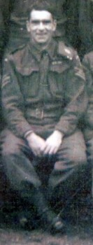 6. Sgt Leslie Poulter (later Lieut.) of Childswickham Platoon. He was to farm in Wickhamford after the War.