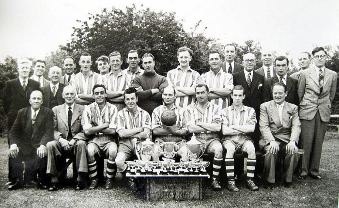 Wickhamford Football Club – 1952/53 Season team