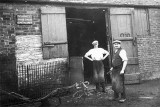 The blacksmith's shop, 1927