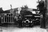 Cyril Bird's garage in the late 1930s