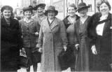 Badsey WI outing to London, 1950s