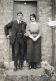 Cyril Heritage with his wife