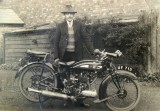 Vernon Pethard with bike