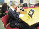 19. Copying photographs at Worcestershire Record Office