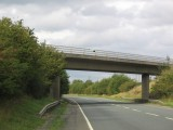 Aldington - Offenham Road bridge over A46